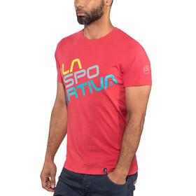 La Sportiva Square - T-shirt manches courtes Homme - rouge
